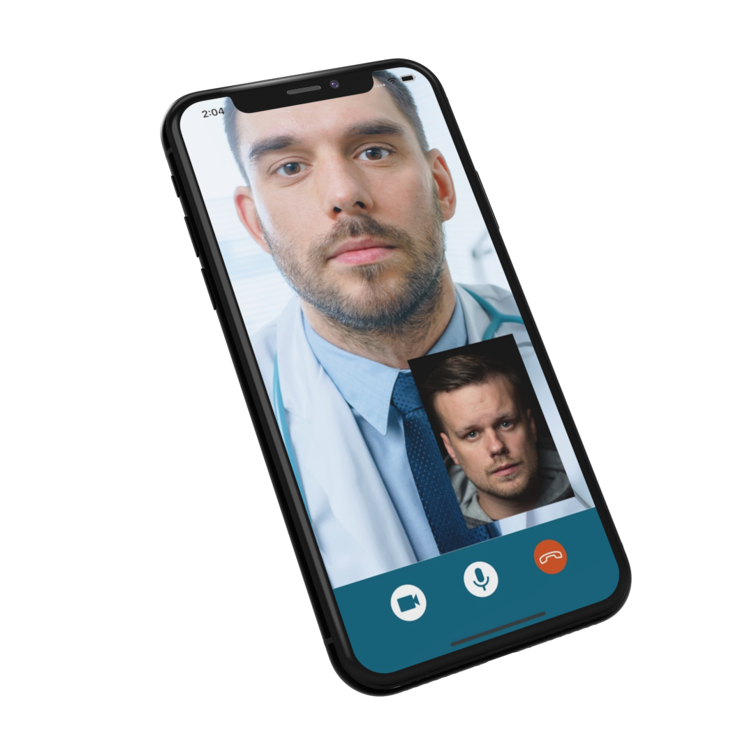 VideoSamtale skærmbillede